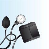 Sphygmomanometer stock illustrationer