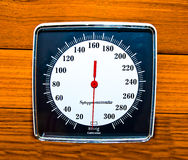 The Sphygmomanometer stock photos