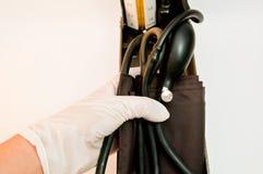 Sphygmomanometer Arkivfoton