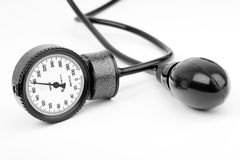 Sphygmomanometer for blood pressure Royalty Free Stock Photos