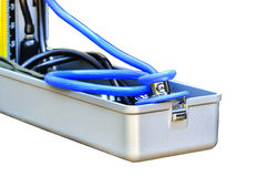 Sphygmomanometer for blood pressure Royalty Free Stock Image