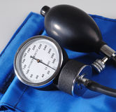 Sphygmomanometer close up Stock Image