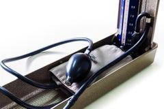 Sphygmomanometer. Close up shot Sphygmomanometer on isolate background Royalty Free Stock Photo