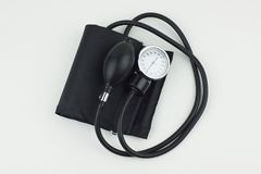Sphygmomanometer high resolution image depicting blood pressure control. Image Stock Image