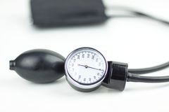 Sphygmomanometer high resolution image depicting blood pressure control. Image Royalty Free Stock Image