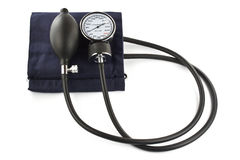 Sphygmomanometer isolated. On white background blood pressure Royalty Free Stock Photography