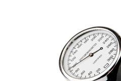 Sphygmomanometer isolated on white Stock Image
