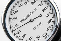 Sphygmomanometer isolated on white Royalty Free Stock Photo