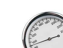 Sphygmomanometer isolated on white Royalty Free Stock Photography