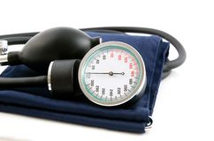 sphygmomanometer médical Photo libre de droits
