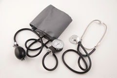 Sphygmomanometer with Stethoscope 2 Stock Photography