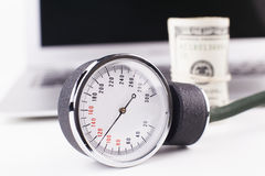 Pressure Exam Royalty Free Stock Photography