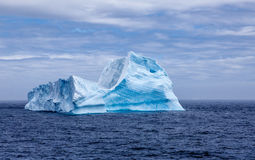Sphynx айсберга в Antarctica-2 Стоковое Изображение RF