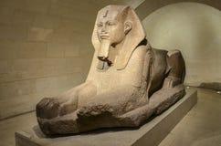 Sphynx au Louvre Photos libres de droits