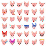 Sphynx Cat Emoji Emoticon Expression Stock Images
