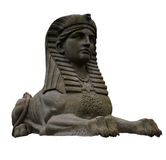 Sphynx Side View. A sphynx statue from the side with paws and a star Royalty Free Stock Image