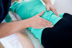 Sphysical therapy Royalty Free Stock Photo