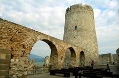 Spi? Schloss (Spisky Hrad) - Kontrollturm Lizenzfreies Stockfoto