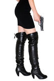 Spia femminile fotografie stock libere da diritti