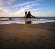 Spiagge abbandonate dell'isola di Tenerife Le Isole Canarie spain immagine stock