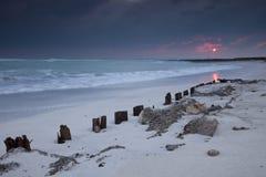Spiagge bianche Fotografie Stock
