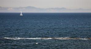 Spiagge davanti all'Africa fotografia stock