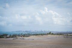 Spiagge del Brasile - Genipabu Marina militare Immagine Stock Libera da Diritti