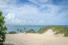 Spiagge del Brasile - Genipabu Marina militare Immagine Stock