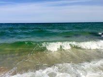Spiagge dell'acqua blu di Florida's Fotografia Stock Libera da Diritti