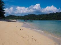 Spiagge dell'isola fotografia stock