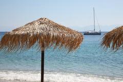 Spiagge dell'isola di Skopelos immagine stock libera da diritti