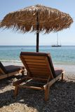 Spiagge dell'isola di Skopelos fotografia stock