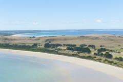Spiagge della penisola di Stanely Tasmania Australia Immagine Stock Libera da Diritti