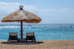 Spiagge di Bali fotografia stock libera da diritti