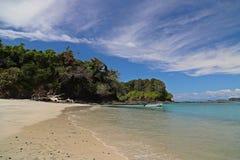 Spiagge di bontà nel Panama Chiriqui Fotografie Stock Libere da Diritti