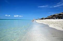Spiagge di Varadero, Cuba Immagini Stock Libere da Diritti