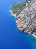 Spiagge a distanza Immagini Stock Libere da Diritti