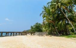 Spiagge e ponti Fotografie Stock Libere da Diritti