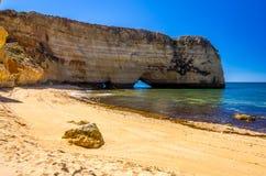 spiagge nell'Algarve Immagine Stock