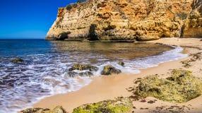 spiagge nell'Algarve Fotografia Stock Libera da Diritti