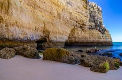 spiagge nell'Algarve Fotografia Stock