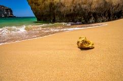 spiagge nell'Algarve Immagini Stock Libere da Diritti