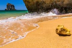 spiagge nell'Algarve Immagine Stock Libera da Diritti
