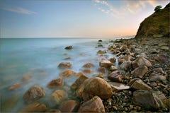 Spiagge, paesaggi Fotografia Stock