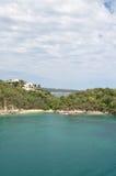 Spiagge private fotografie stock libere da diritti