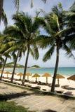 Spiagge soleggiate, isola di Hainan Immagini Stock Libere da Diritti