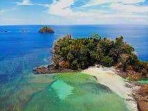 Spiagge tropicali nel Panama, il migliore posto da rilassarsi Immagine Stock