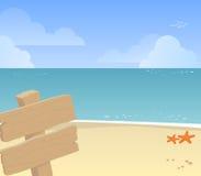Spiaggia illustrazione vettoriale