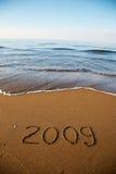 Spiaggia 2009 Fotografia Stock