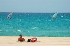 Spiaggia 031 Immagini Stock